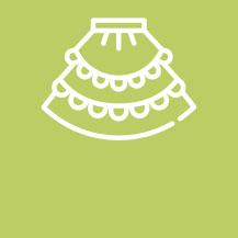 Full Frilled Skirt Set